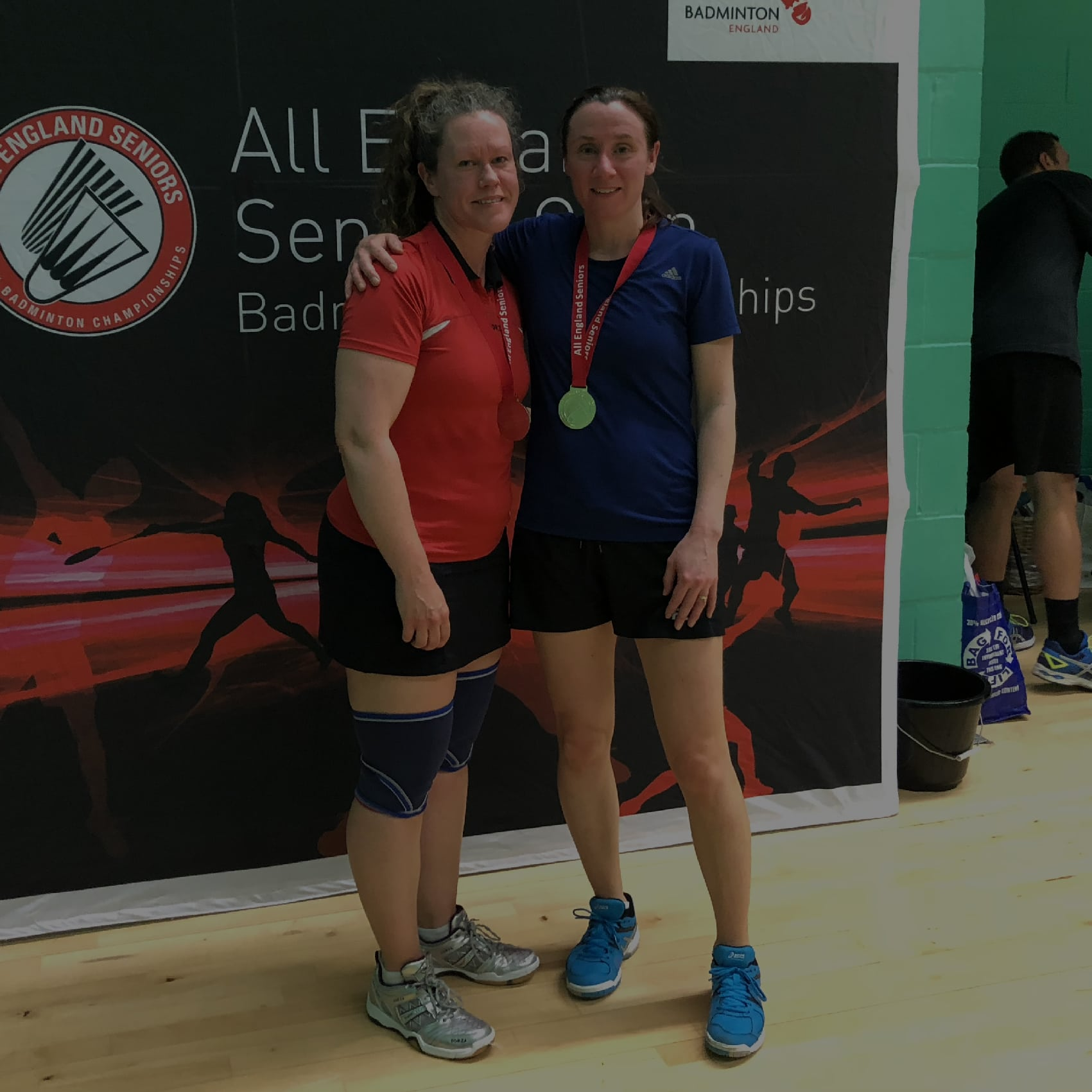 Seven's Finance Director represents England Masters Badminton Team at Forza Nations Cup