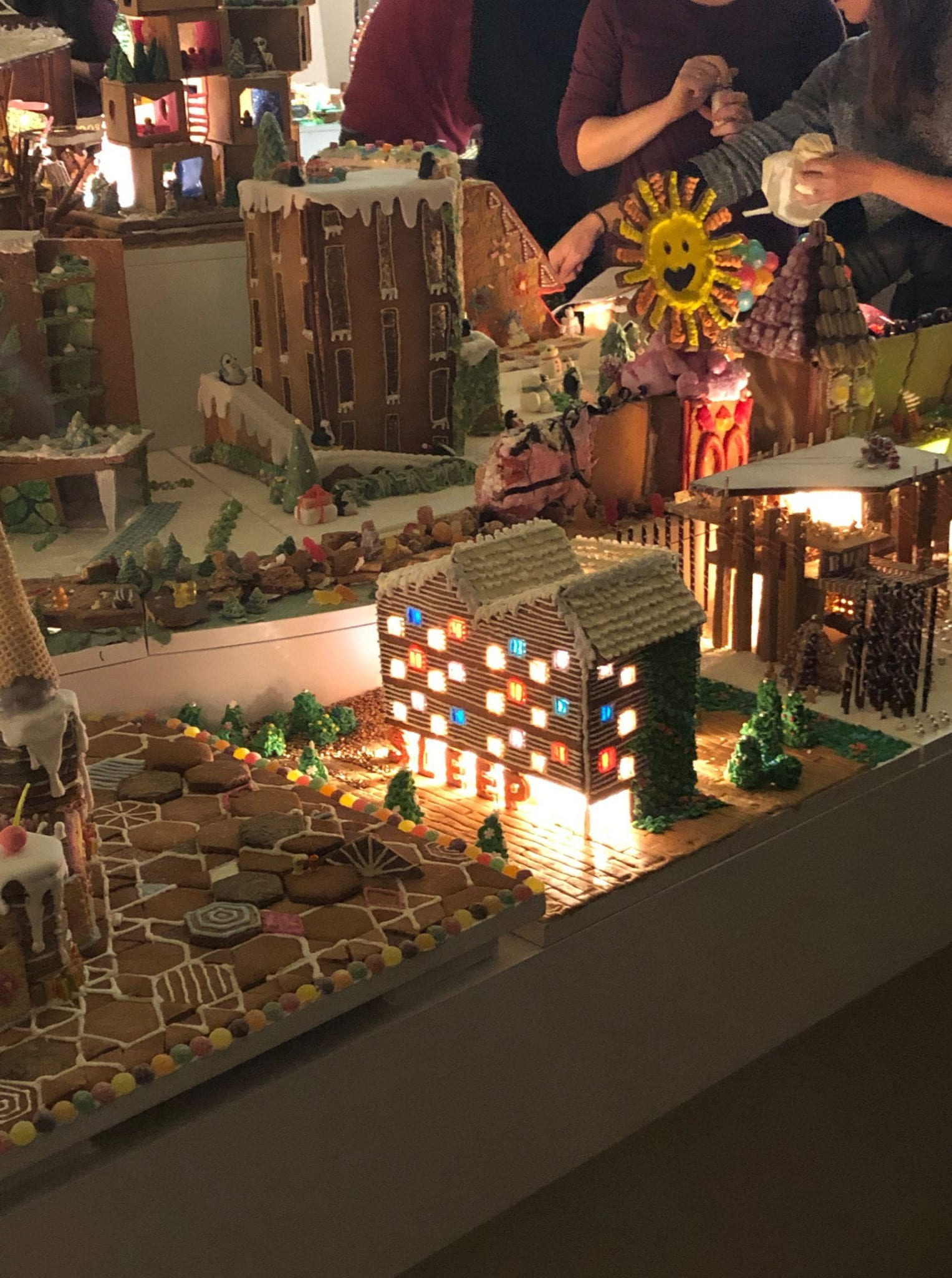 Seven's sweet offering for the Gingerbread City 2018 at the V&A