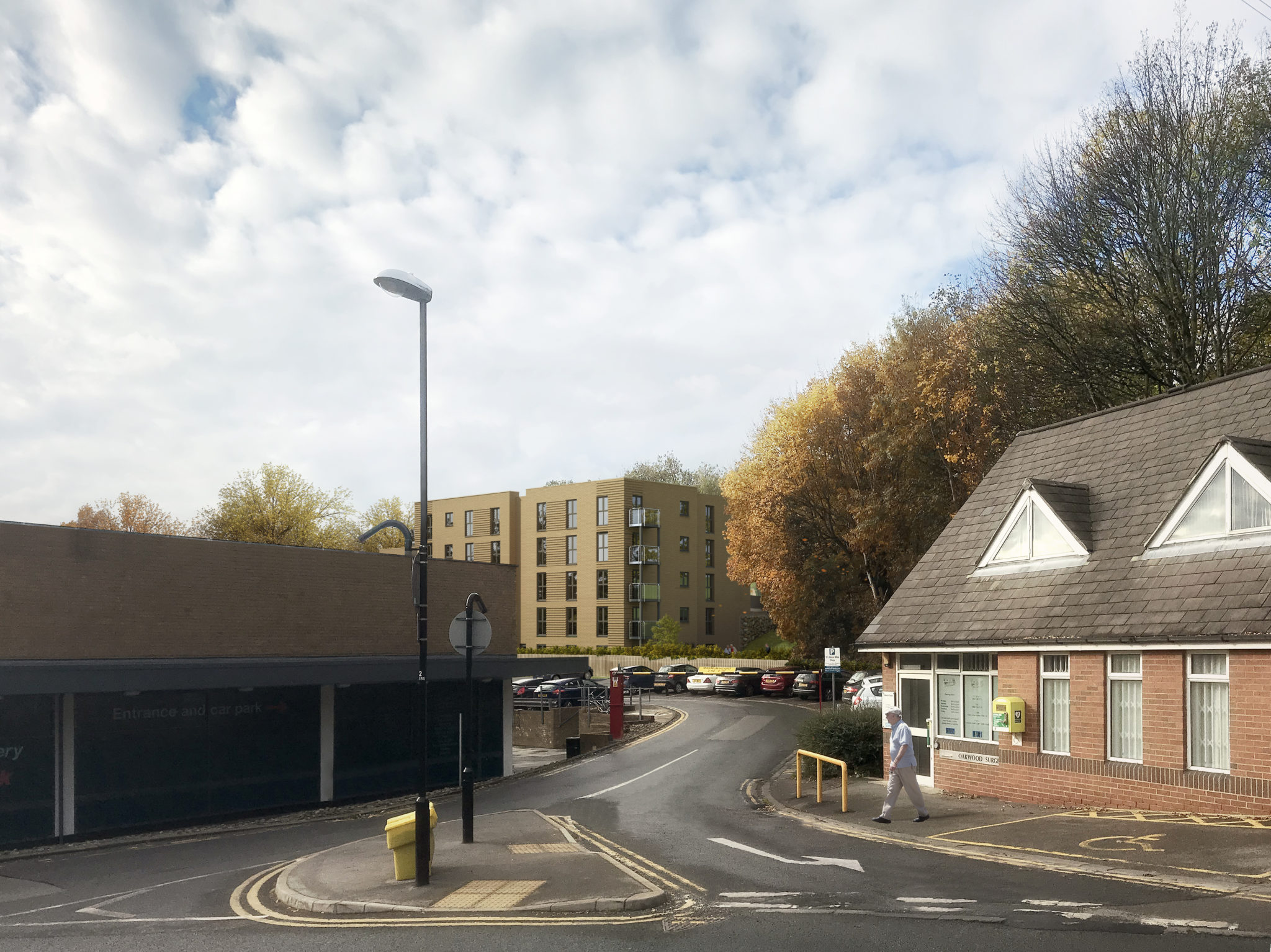 Planning application submitted for a new retirement living scheme in Oakwood, Leeds
