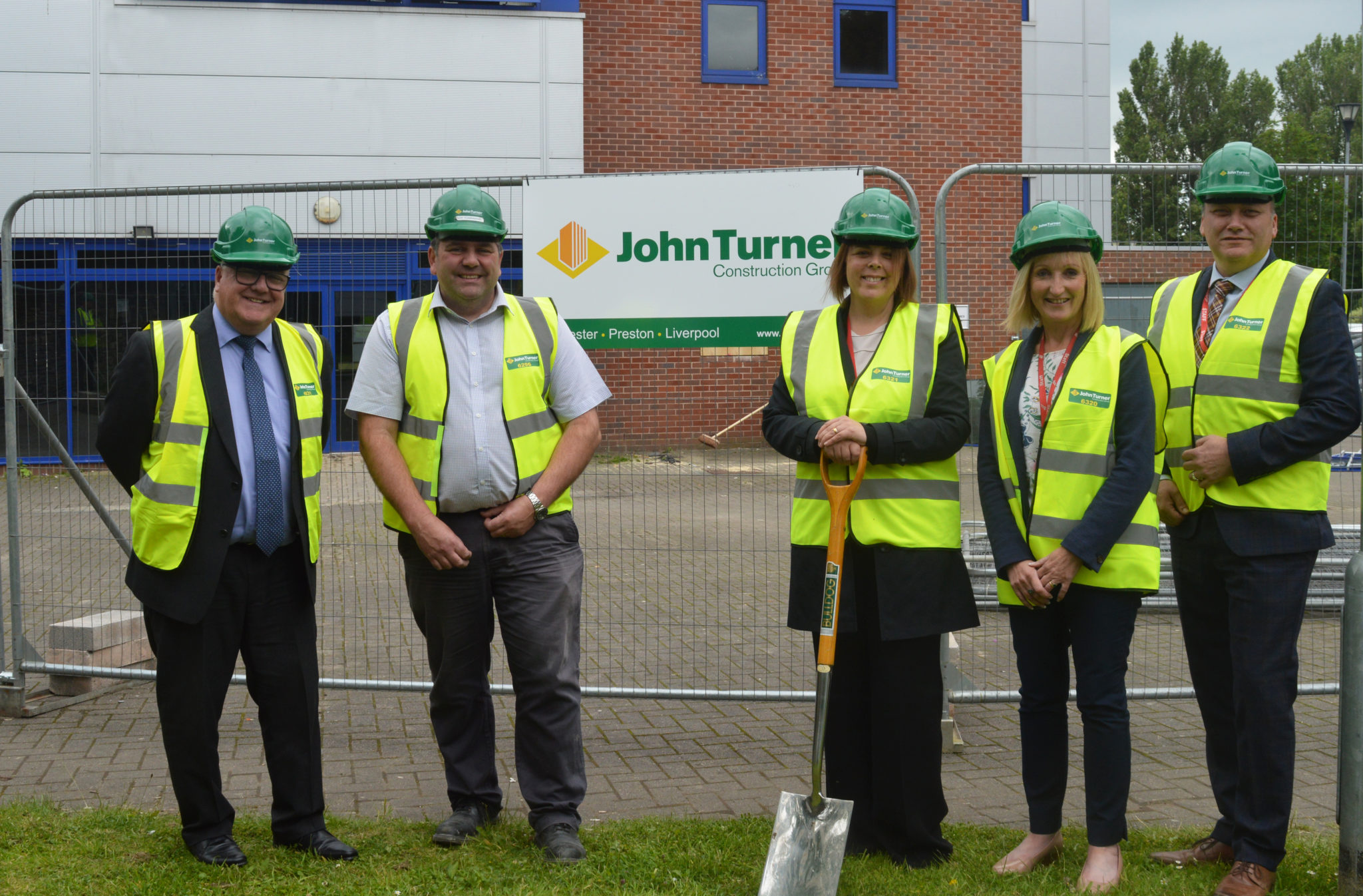 Building work commences on Wigan & Leigh College's specialist Engineering Centre