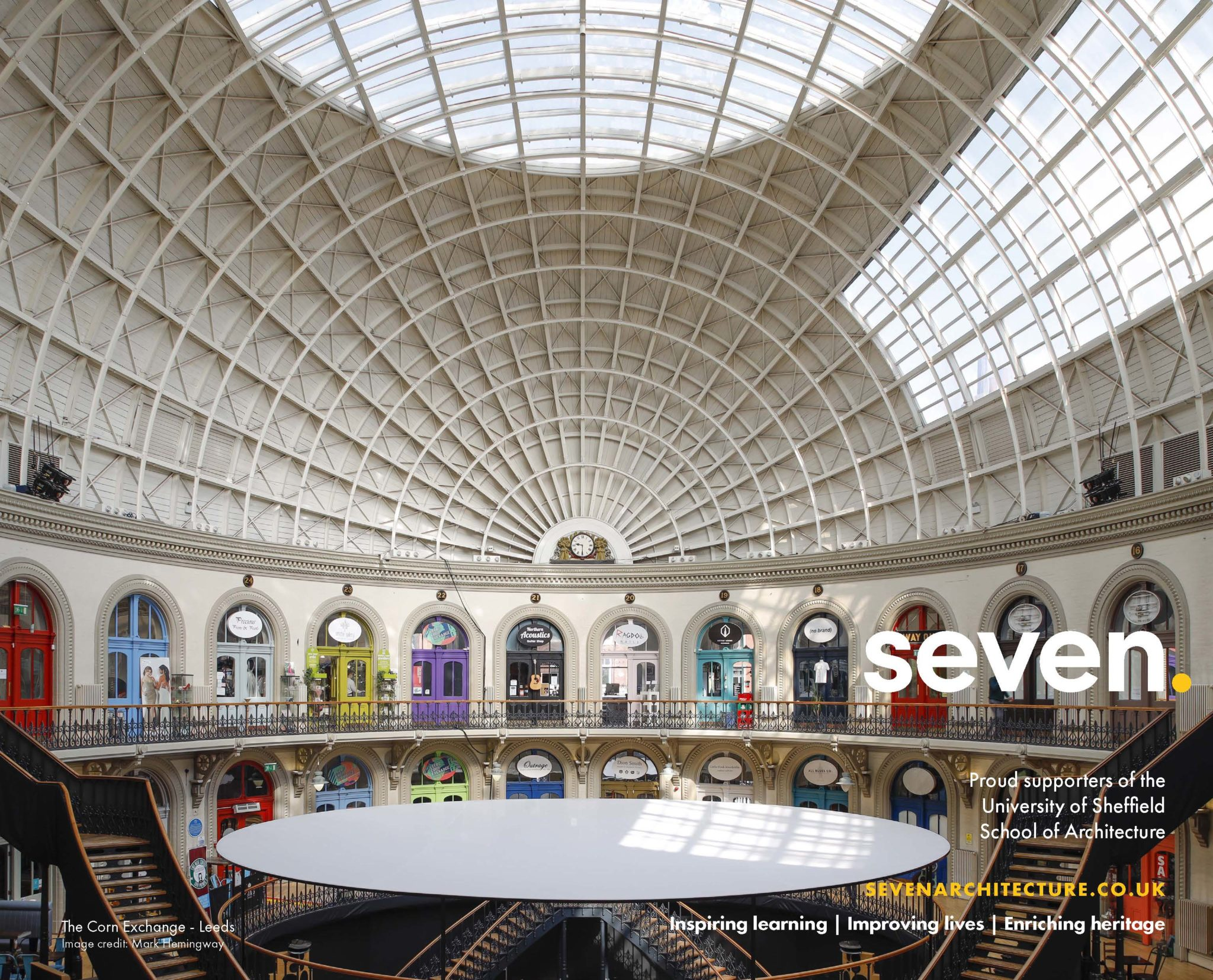 Seven proud to support the Architecture 2019 Exhibition!