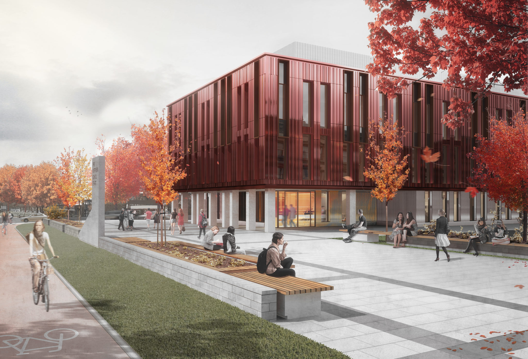 Funds approved for The Northern School of Art's new £14.5m gateway building